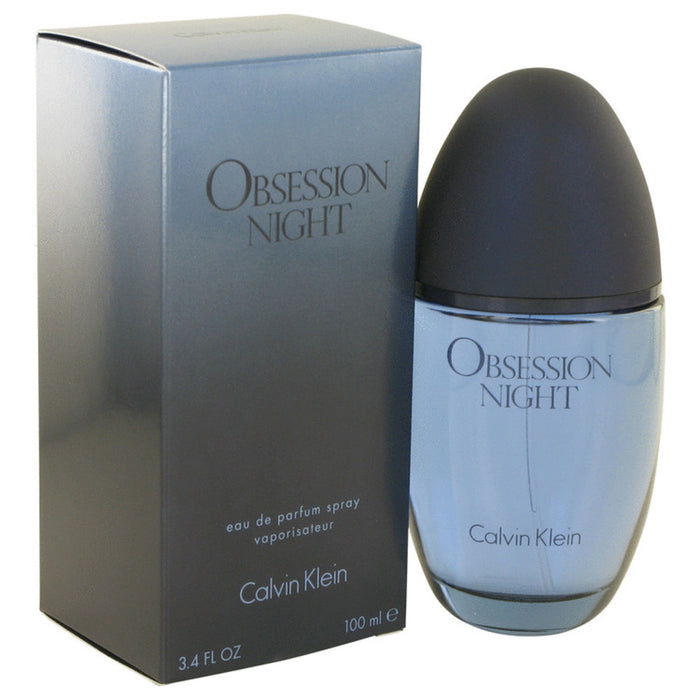 Obsession Night By Calvin Klein Eau De Parfum Spray 3.4 Oz For Women