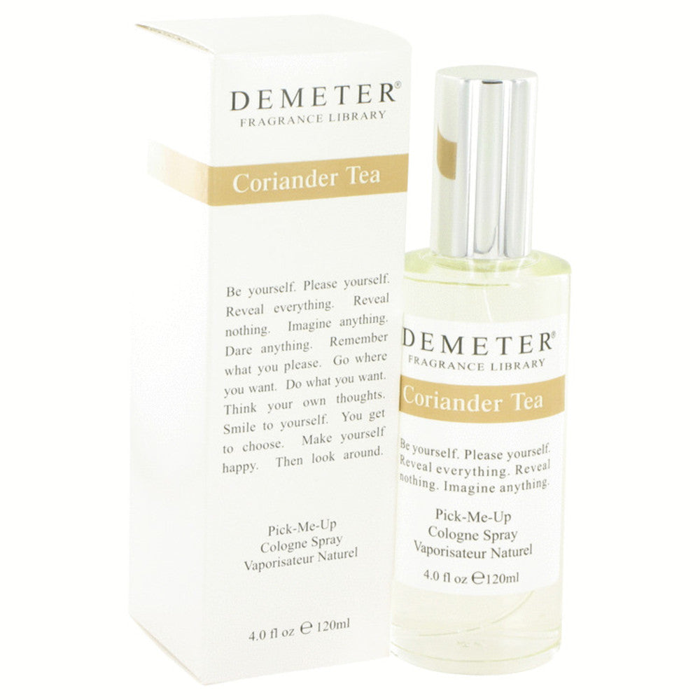 Demeter Coriander Tea By Demeter Cologne Spray 4 Oz For Women
