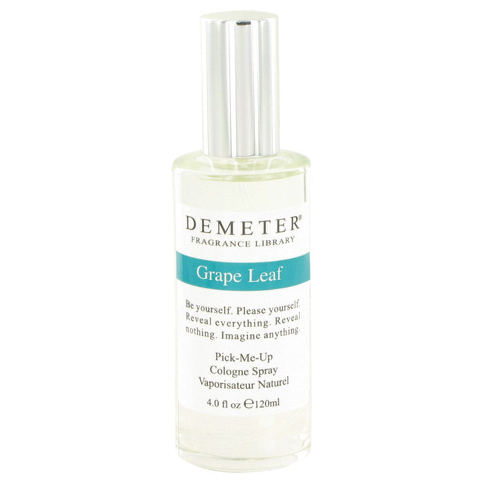 Demeter Grape Leaf By Demeter Cologne Spray 4 Oz For Women