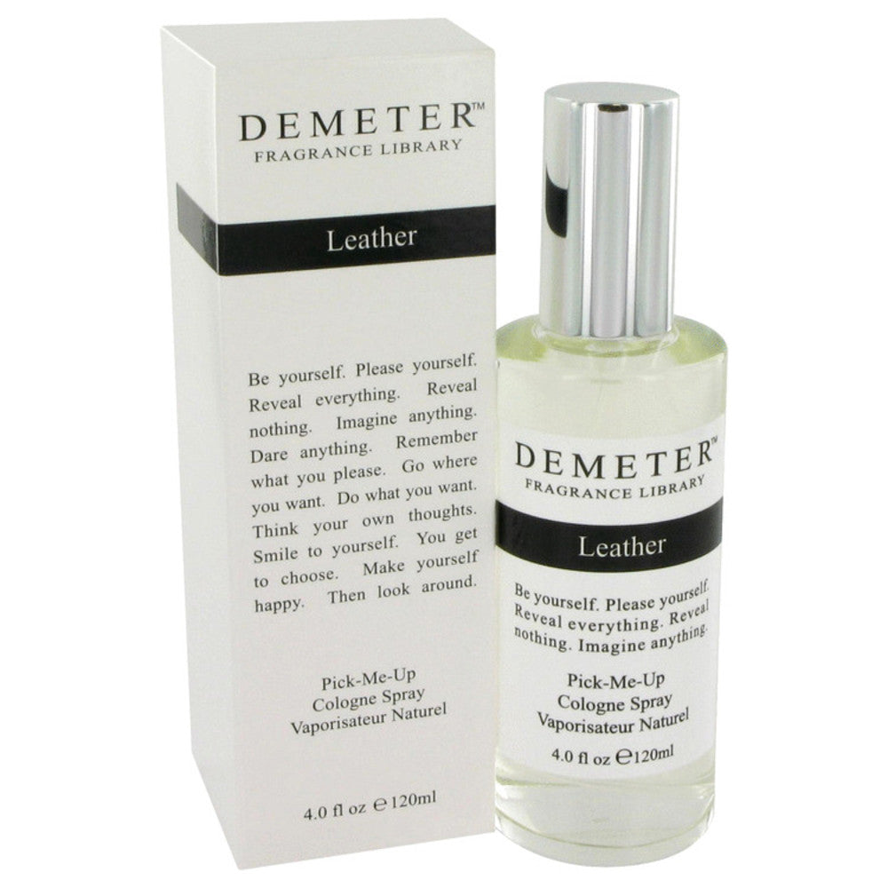 Demeter Leather By Demeter Cologne Spray 4 Oz For Women