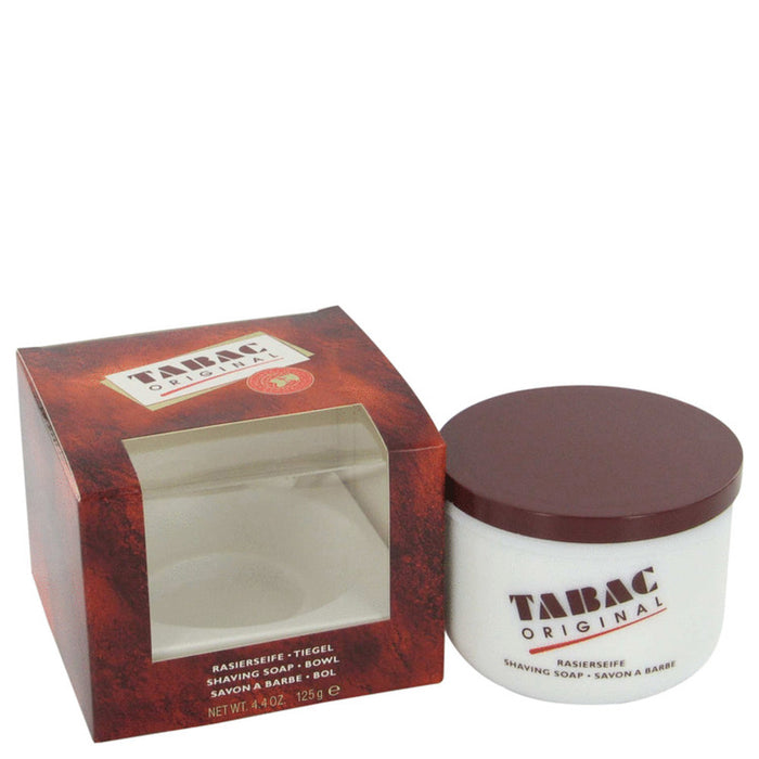Tabac By Maurer and Wirtz Shaving Soap With Bowl 4.4 Oz For Men