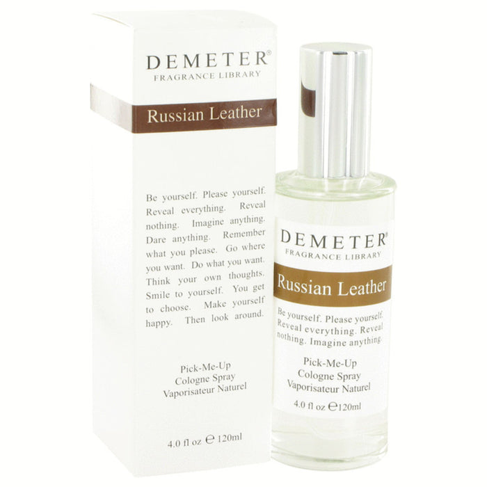Demeter Russian Leather By Demeter Cologne Spray 4 Oz For Women