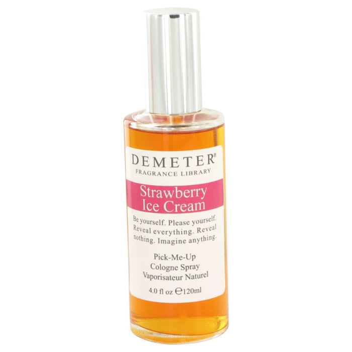 Demeter Strawberry Ice Cream By Demeter Cologne Spray 4 Oz For Women