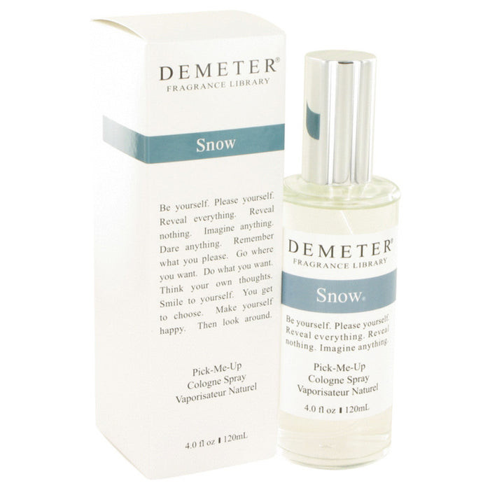 Demeter Snow By Demeter Cologne Spray 4 Oz For Women