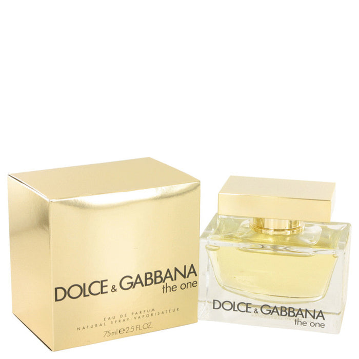 The One By Dolce and Gabbana Eau De Parfum Spray 2.5 Oz For Women