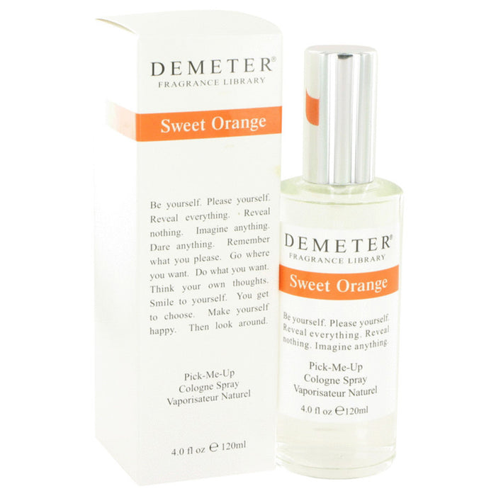 Demeter Sweet Orange By Demeter Cologne Spray 4 Oz For Women