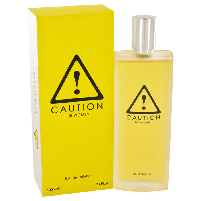 Caution By Kraft Eau De Toilette Spray 3.4 Oz For Women