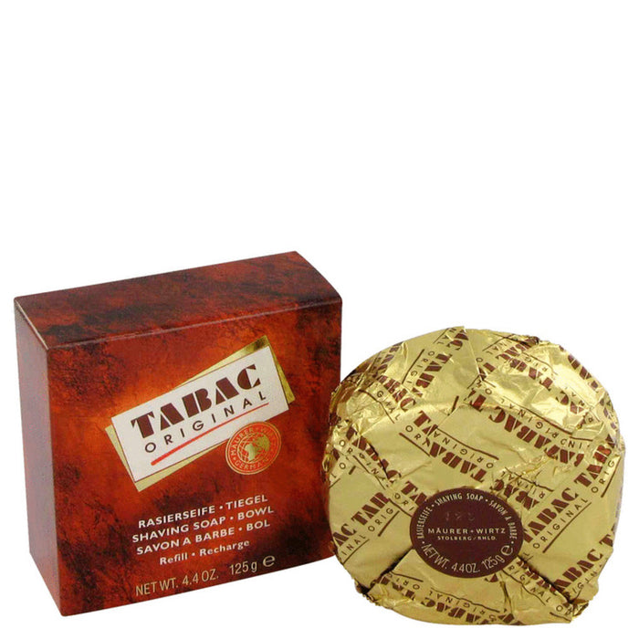 Tabac By Maurer and Wirtz Shaving Soap Refill 4.4 Oz For Men