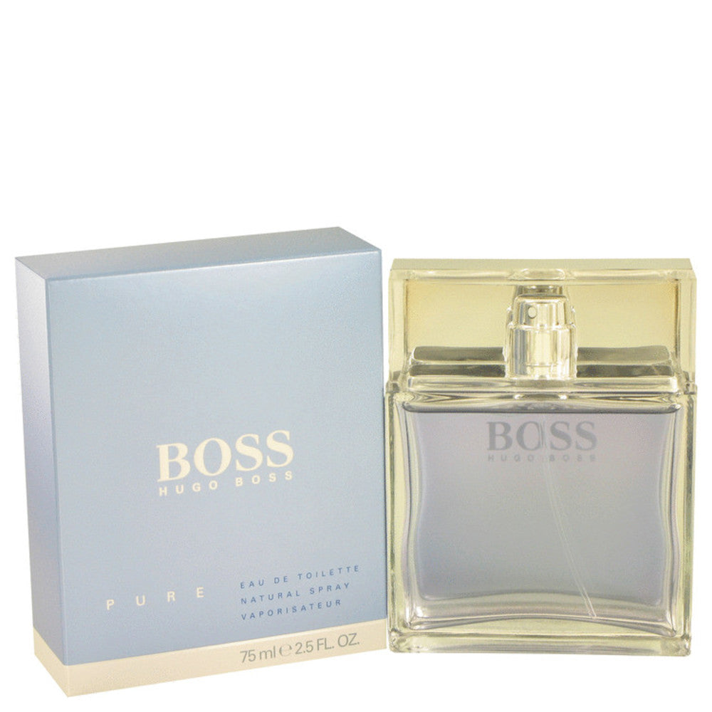 Boss Pure By Hugo Boss Eau De Toilette Spray 2.5 Oz For Men