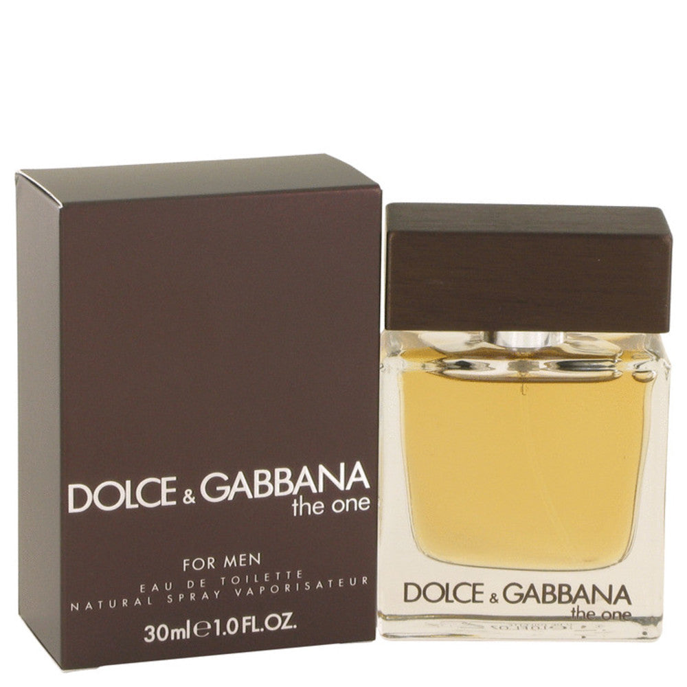 The One By Dolce and Gabbana Eau De Toilette Spray 1 Oz For Men