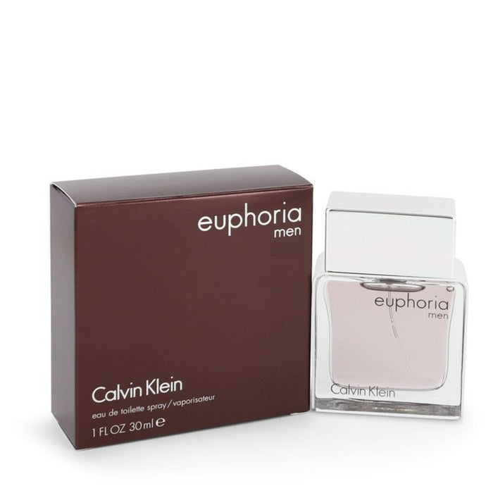 Euphoria By Calvin Klein Eau De Toilette Spray 1 Oz For Men
