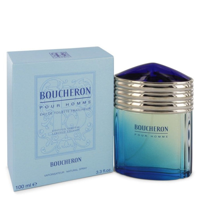 Boucheron By Boucheron Eau De Toilette Fraicheur Spray (limited Edition) 3.4 Oz For Men