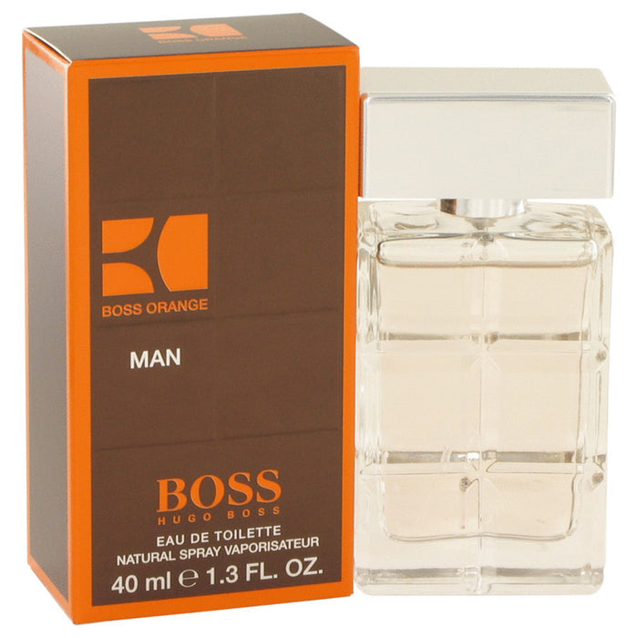 Boss Orange By Hugo Boss Eau De Toilette Spray 1.4 Oz For Men