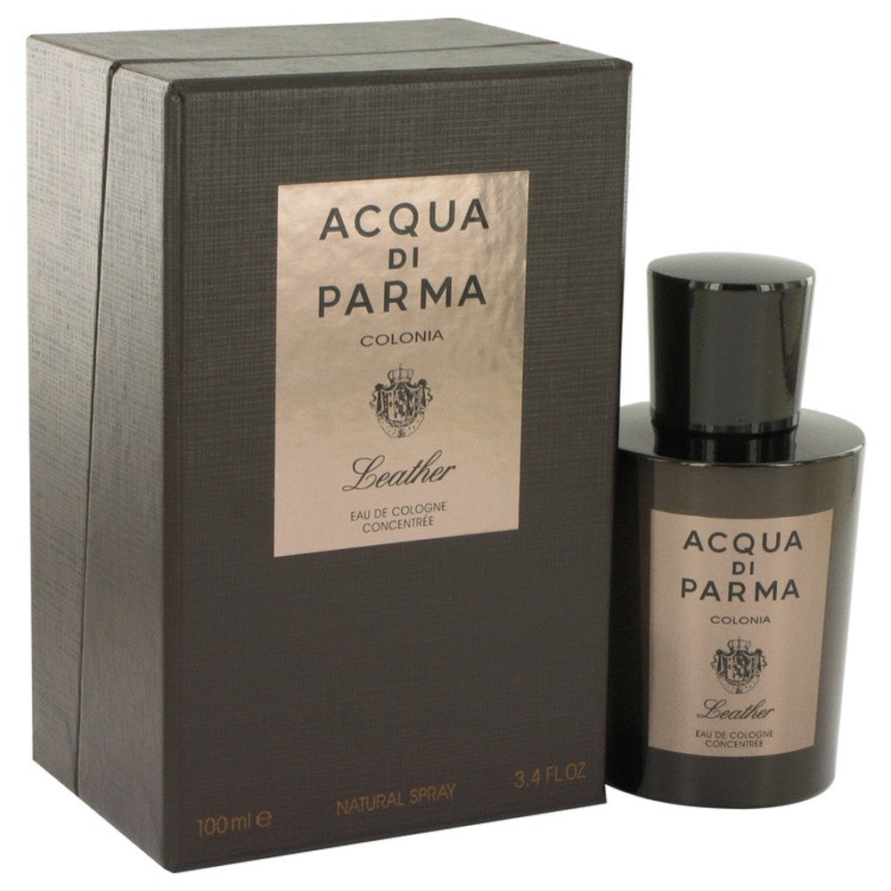 Acqua Di Parma Colonia Leather By Acqua Di Parma Eau De Cologne Concentree Spray 3.4 Oz For Men