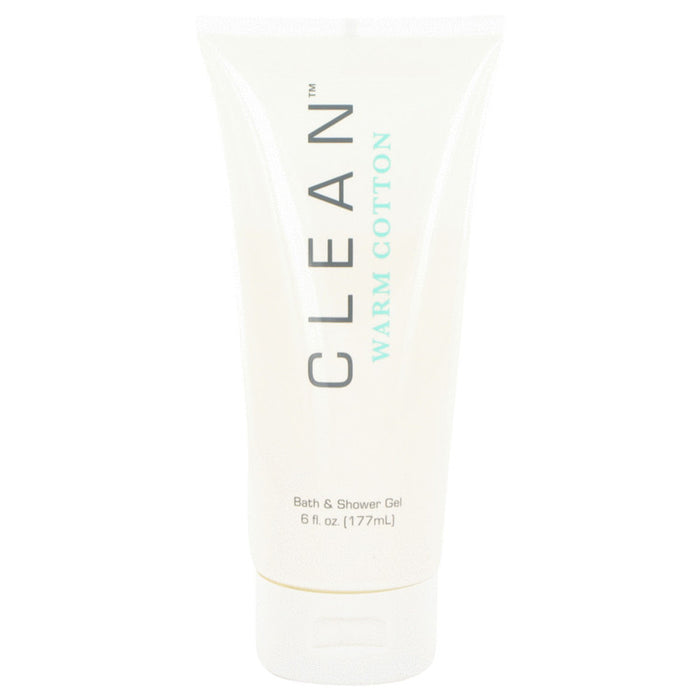 Clean Warm Cotton By Clean Shower Gel 6 Oz For Women