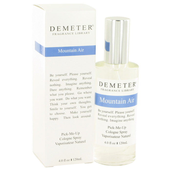 Demeter Mountain Air By Demeter Cologne Spray 4 Oz For Women