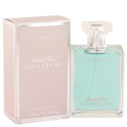 Marshall Fields Signature Floral By Marshall Fields Eau De Toilette Spray (scratched Box) 3.4 Oz For Women