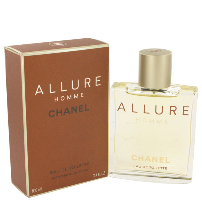 Allure By Chanel Eau De Toilette Spray 3.4 Oz For Men