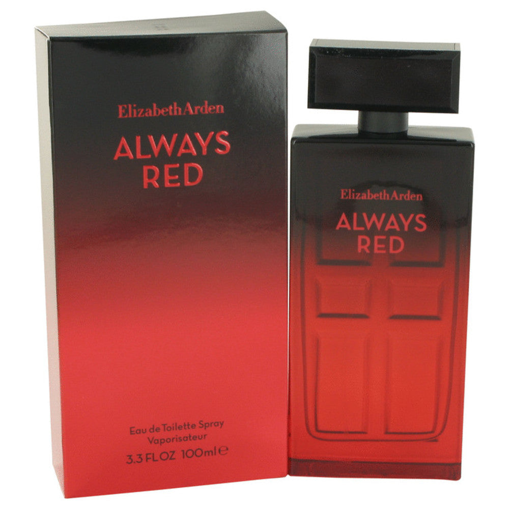 Always Red By Elizabeth Arden Eau De Toilette Spray 3.4 Oz For Women