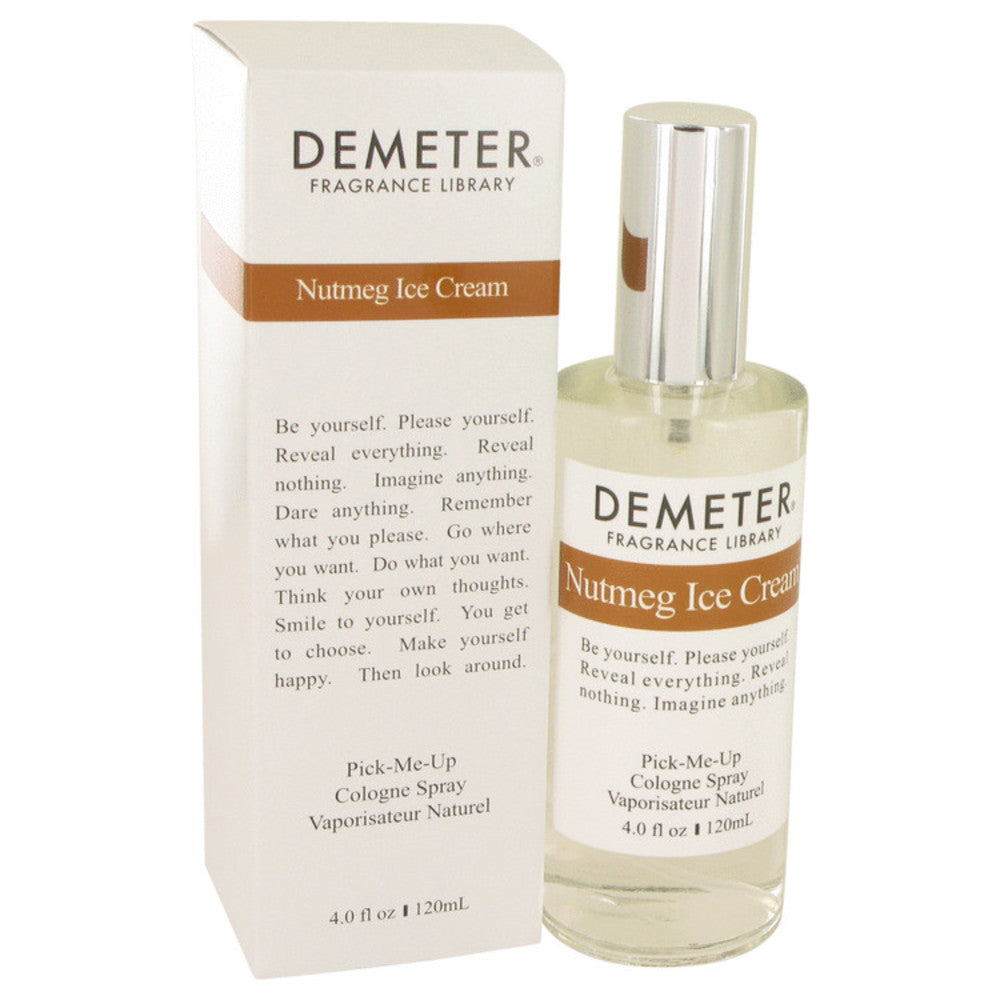Demeter Nutmeg Ice Cream By Demeter Cologne Spray 4 Oz For Women