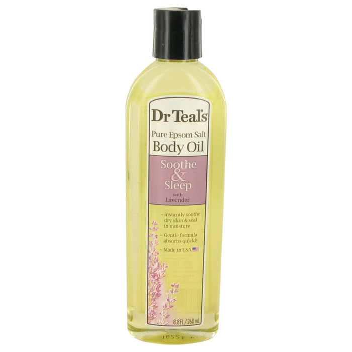 Dr Teal's Bath Oil Sooth and Sleep With Lavender By Dr Teal's Pure Epsom Salt Body Oil Sooth and Sleep With Lavender 8.8 Oz For Women