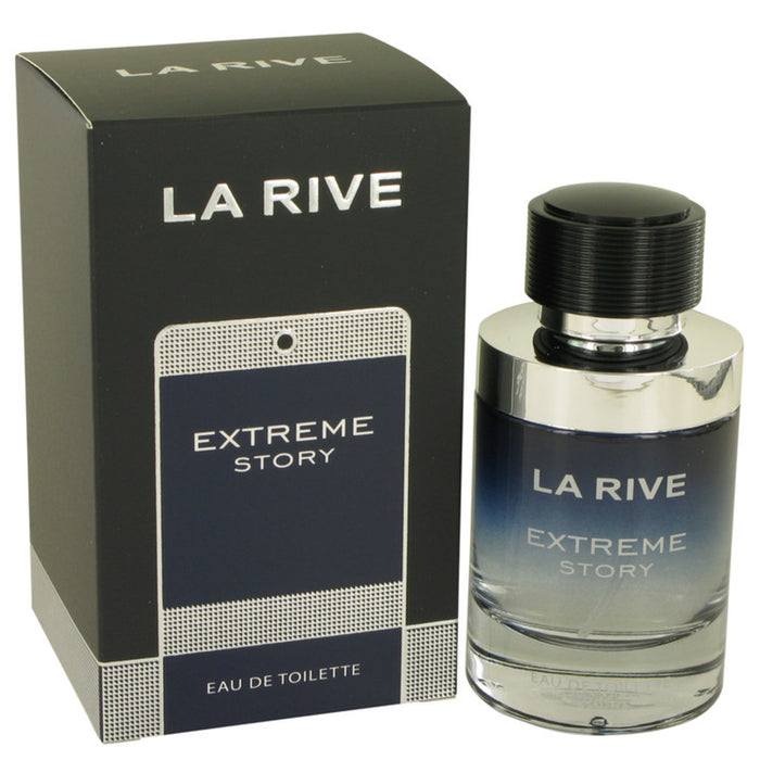 La Rive Extreme Story By La Rive Eau De Toilette Spray 2.5 Oz For Men
