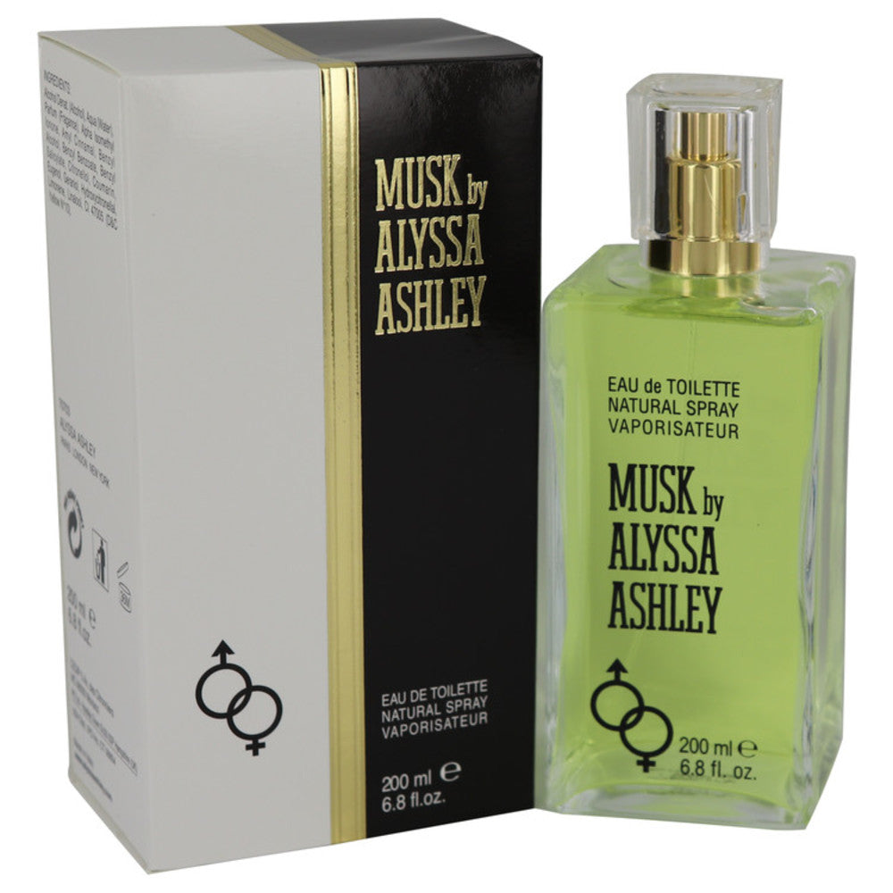 Alyssa Ashley Musk By Houbigant Eau De Toilette Spray 6.8 Oz For Women