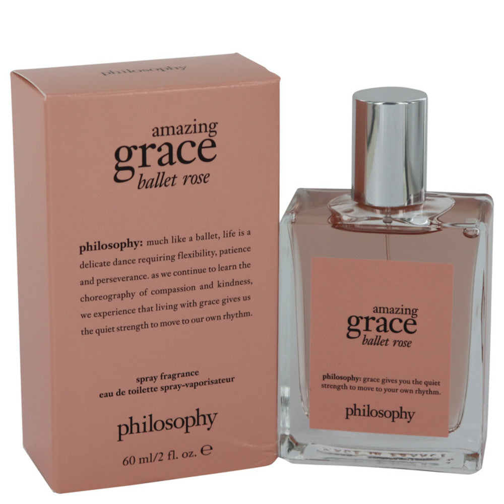 Amazing Grace Ballet Rose By Philosophy Eau De Toilette Spray 2 Oz For Women