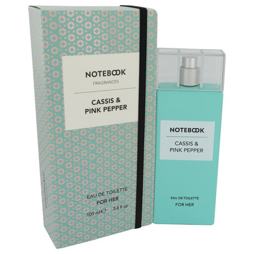 Notebook Cassis and Pink Pepper By Selectiva Spa Eau De Toilette Spray 3.4 Oz For Women