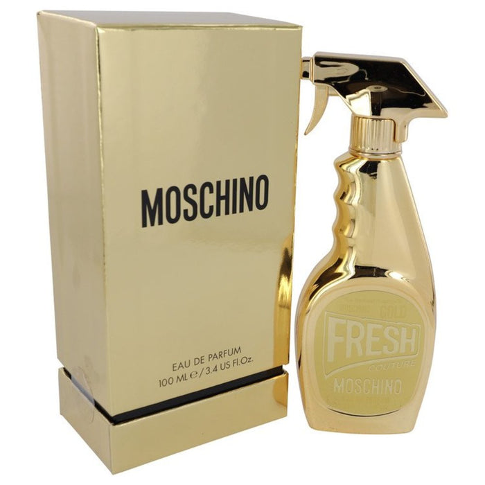 Moschino Fresh Gold Couture By Moschino Eau De Parfum Spray 3.4 Oz For Women