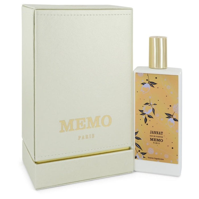 Jannat By Memo Eau De Parfum Spray (unisex) 2.53 Oz For Women