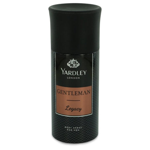 Yardley Gentleman Legacy By Yardley London Deodorant Body Spray 5 Oz For Men