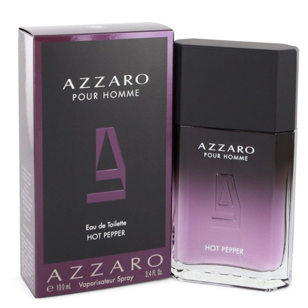 Azzaro Hot Pepper By Azzaro Eau De Toilette Spray 3.4 Oz For Men