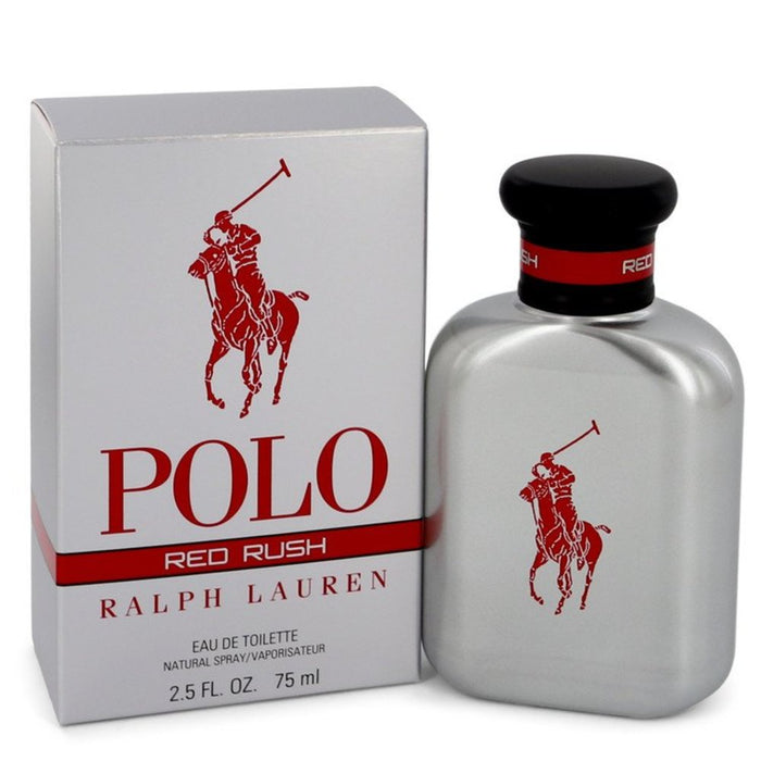 Polo Red Rush By Ralph Lauren Eau De Toilette Spray 2.5 Oz For Men
