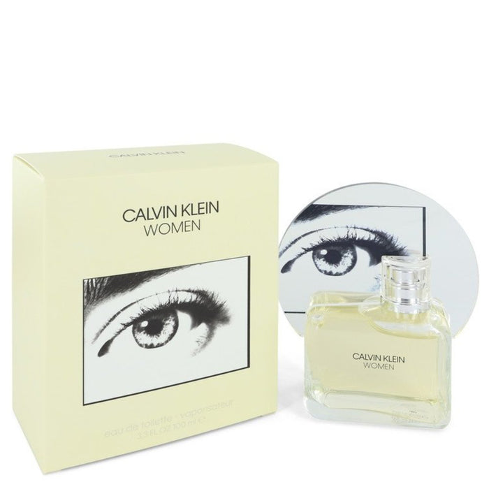 Calvin Klein Woman By Calvin Klein Eau De Toilette Spray 3.3 Oz For Women
