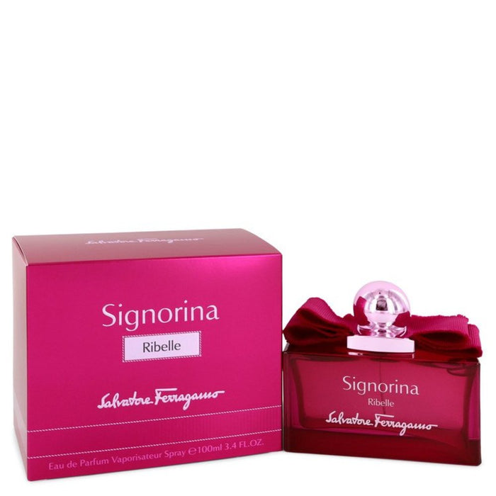 Signorina Ribelle By Salvatore Ferragamo Eau De Parfum Spray 3.4 Oz For Women