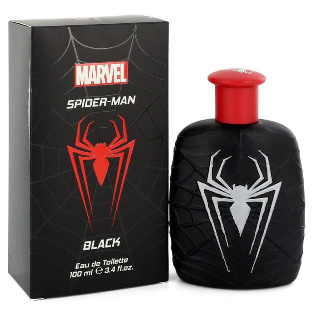 Spiderman Black By Marvel Eau De Toilette Spray 3.4 Oz For Men