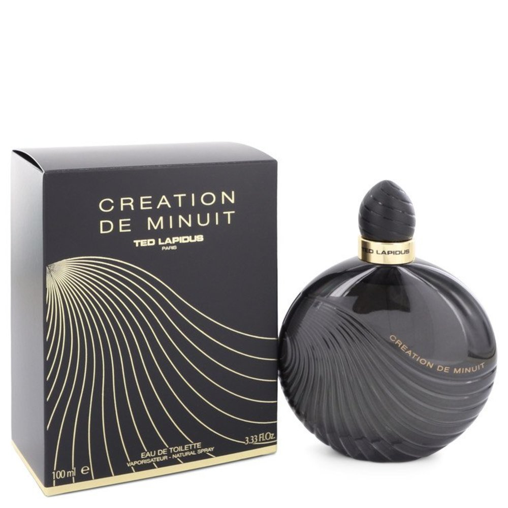 Creation De Minuit By Ted Lapidus Eau De Toilette Spray 3.3 Oz For Women