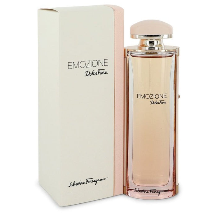 Emozione Dolce Fiore By Salvatore Ferragamo Eau De Toilette Spray 3.1 Oz For Women