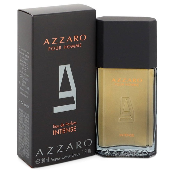 Azzaro Intense By Azzaro Eau De Parfum Spray 1 Oz For Men