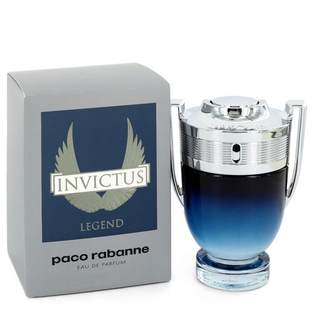 Invictus Legend By Paco Rabanne Eau De Parfum Spray 1.7 Oz For Men