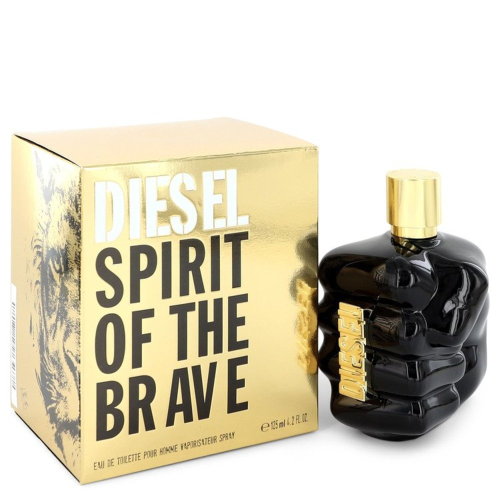 Only The Brave Spirit By Diesel Eau De Toilette Spray 4.2 Oz For Men