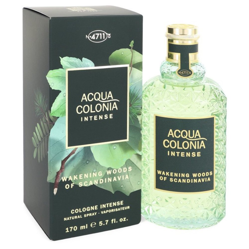 4711 Acqua Colonia Wakening Woods Of Scandinavia By 4711 Eau De Cologne Intense Spray (unisex) 5.7 Oz For Women