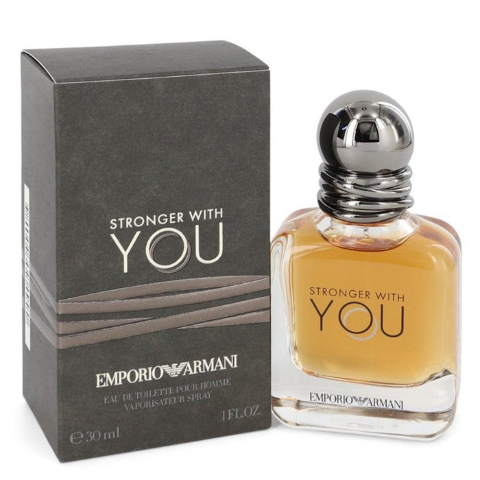 Stronger With You By Giorgio Armani Eau De Toilette Spray 1 Oz For Men