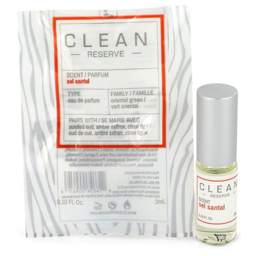 Clean Reserve Sel Santal By Clean Mini Edp Rollerball .10 Oz For Women