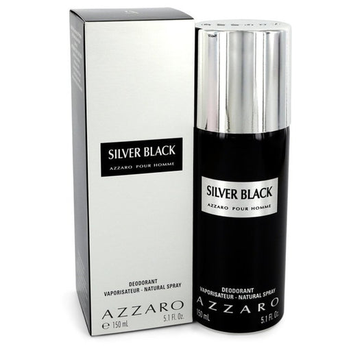 Silver Black By Azzaro Deodorant Spray 5.1 Oz For Men
