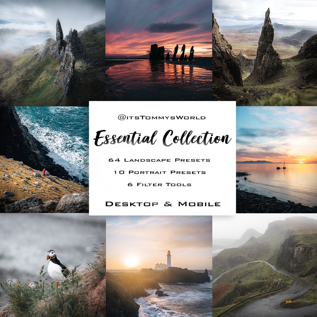 @itstommysWorld Essential Collection - Lightroom Presets