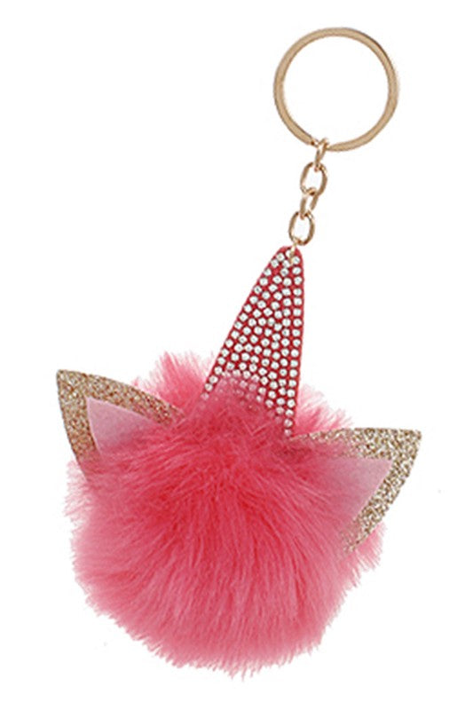 Kitty Unicorn Keychain