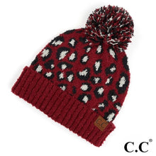 Load image into Gallery viewer, Leopard CC Beanies