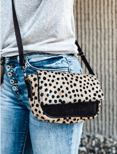 Leopard Crossbody Purse
